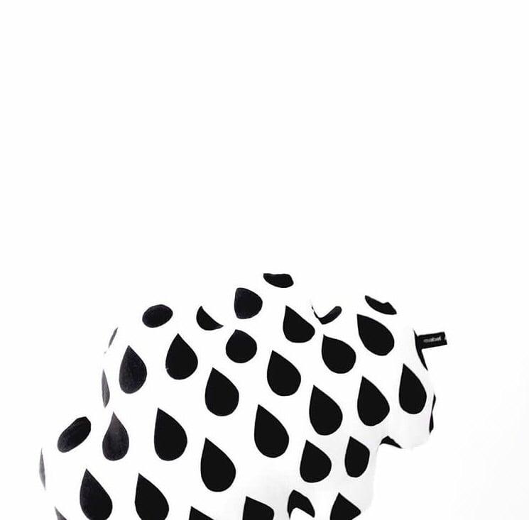 Image of Big raindrop cloud cushion