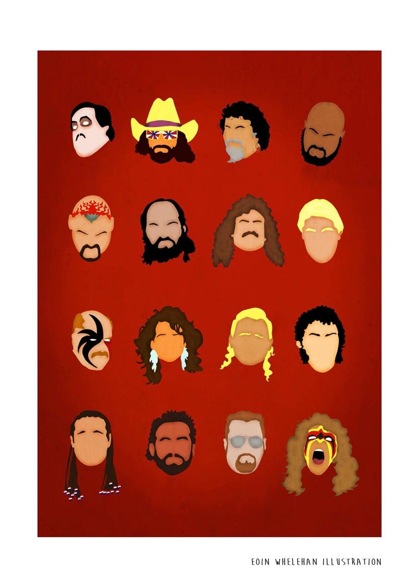 Image of WWE Salute