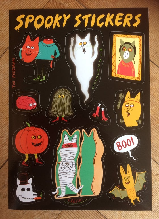 Image of Spooky stickers