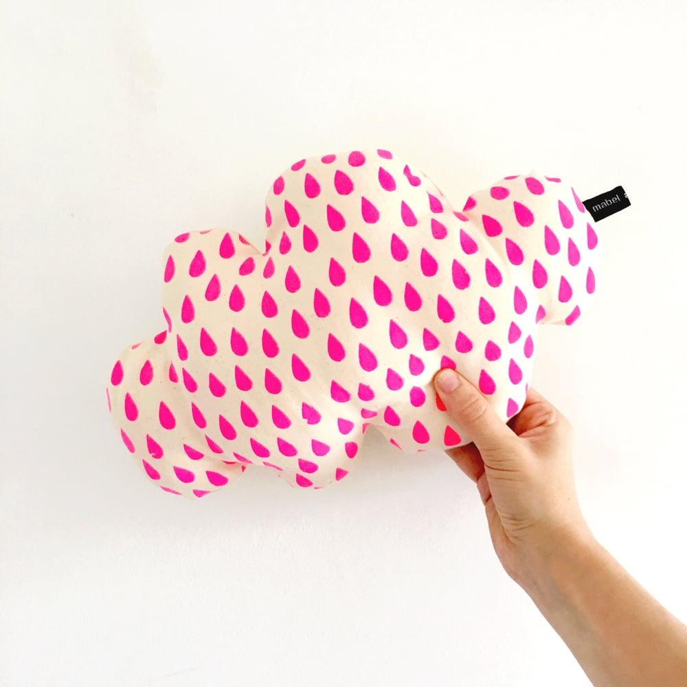Image of Neon raindrops