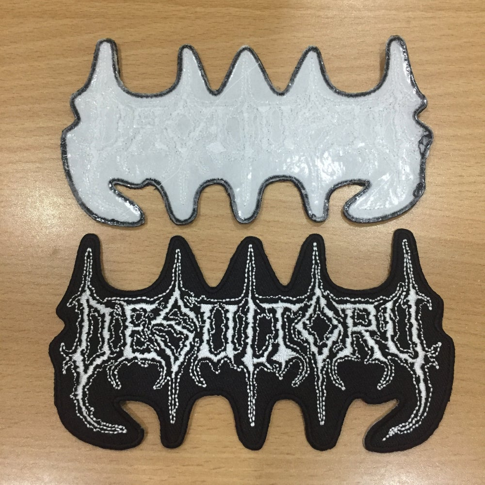 DESULTORY Logo Embroidery Patch