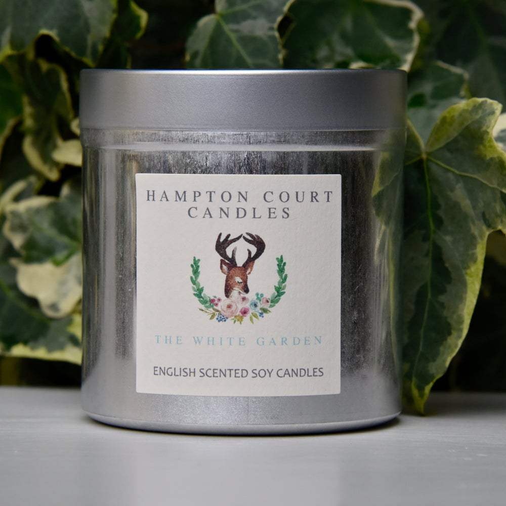 Image of The White Garden Candle