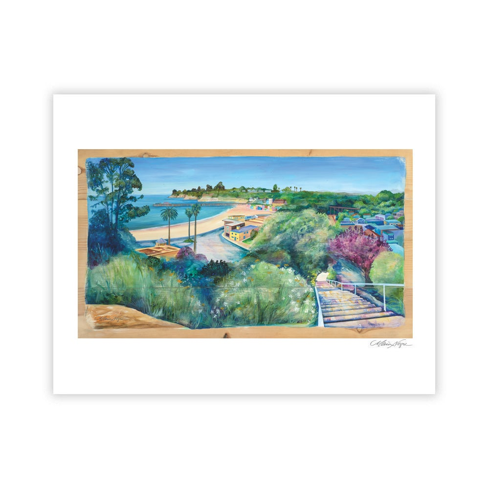 Image of Depot Hill Stairs, Archival Paper Print