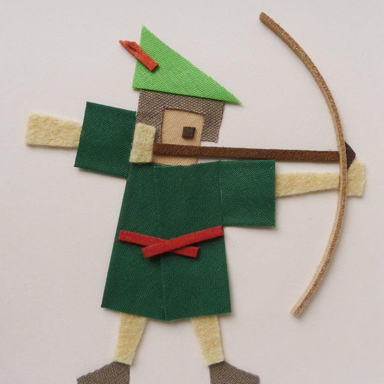 Image of Tableau - Robin des bois