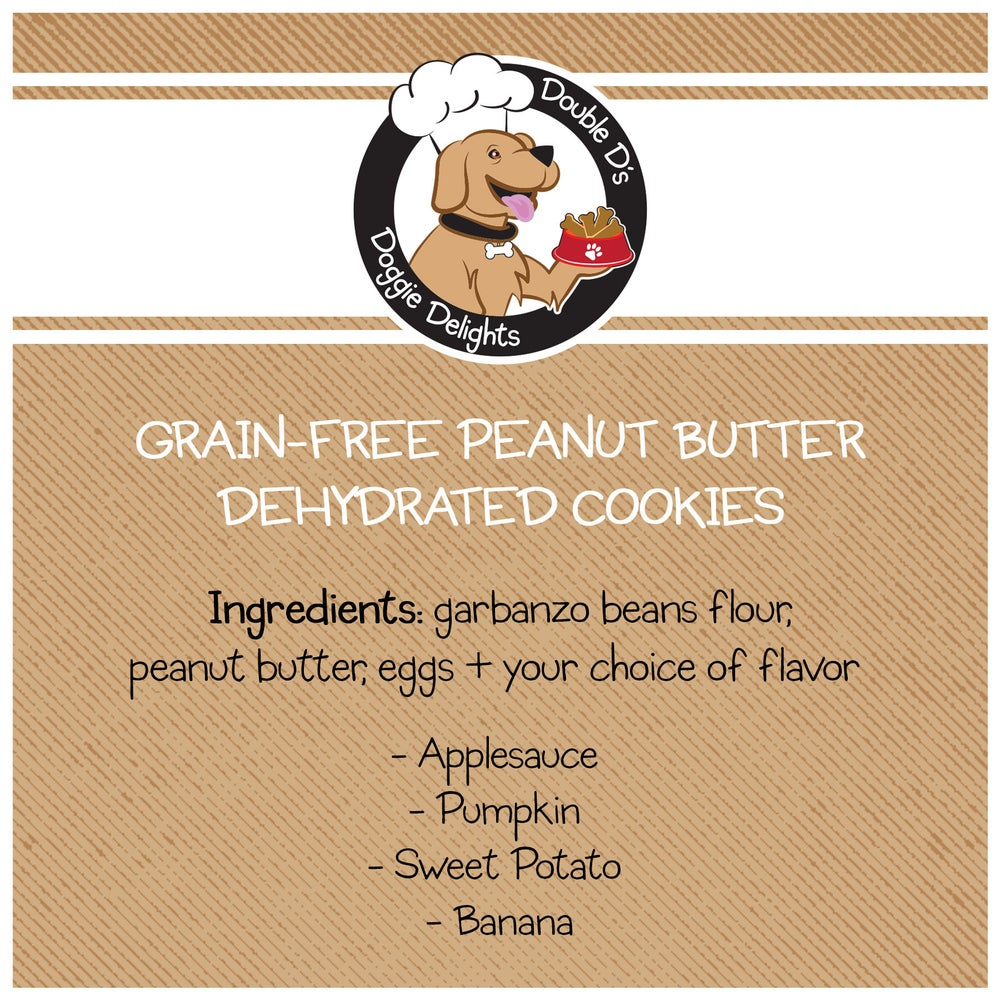 Image of Grain-Free Peanut Butter Dehydrated Cookies