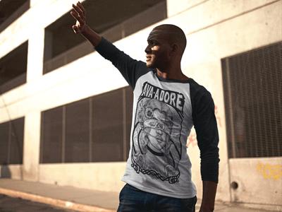 Image of T-shirt Raglan Unisex