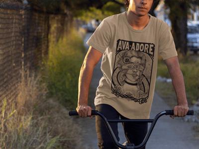Image of T-shirt Beige Unisex