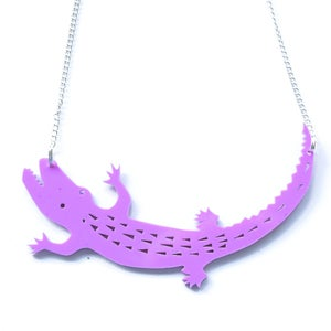 Image of Crocodile Necklace