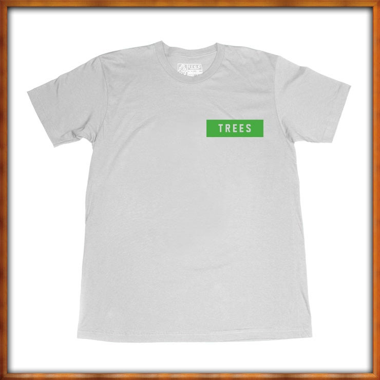 Image of TREES Box Logo Heather Grey
