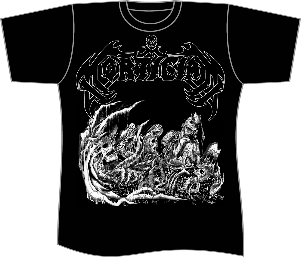 Image of MORTICIAN T SHIRT (IN STOCK)