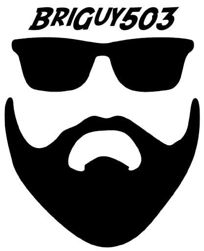 Image of BriGuy503 logo sticker