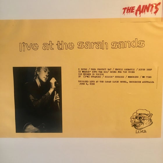 Image of AINTS4EVA THE AINTS - LIVE AT THE SARAH SANDS 2LP