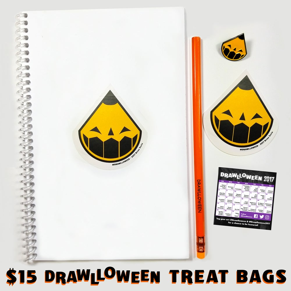Image of Drawlloween Treat Bags