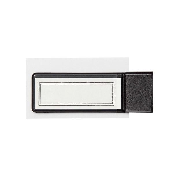 Image of TRAVELER'S notebook Black Pen Holder Sticker 024