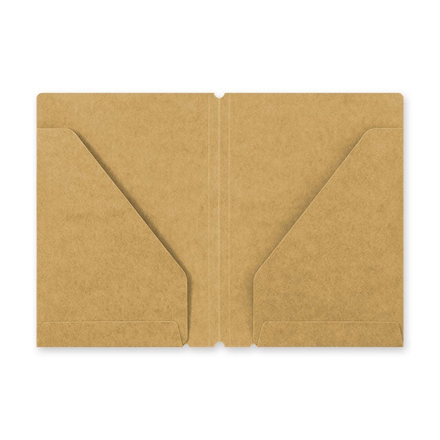 Image of TRAVELER'S notebook Passport Kraft File Folder Refill 010