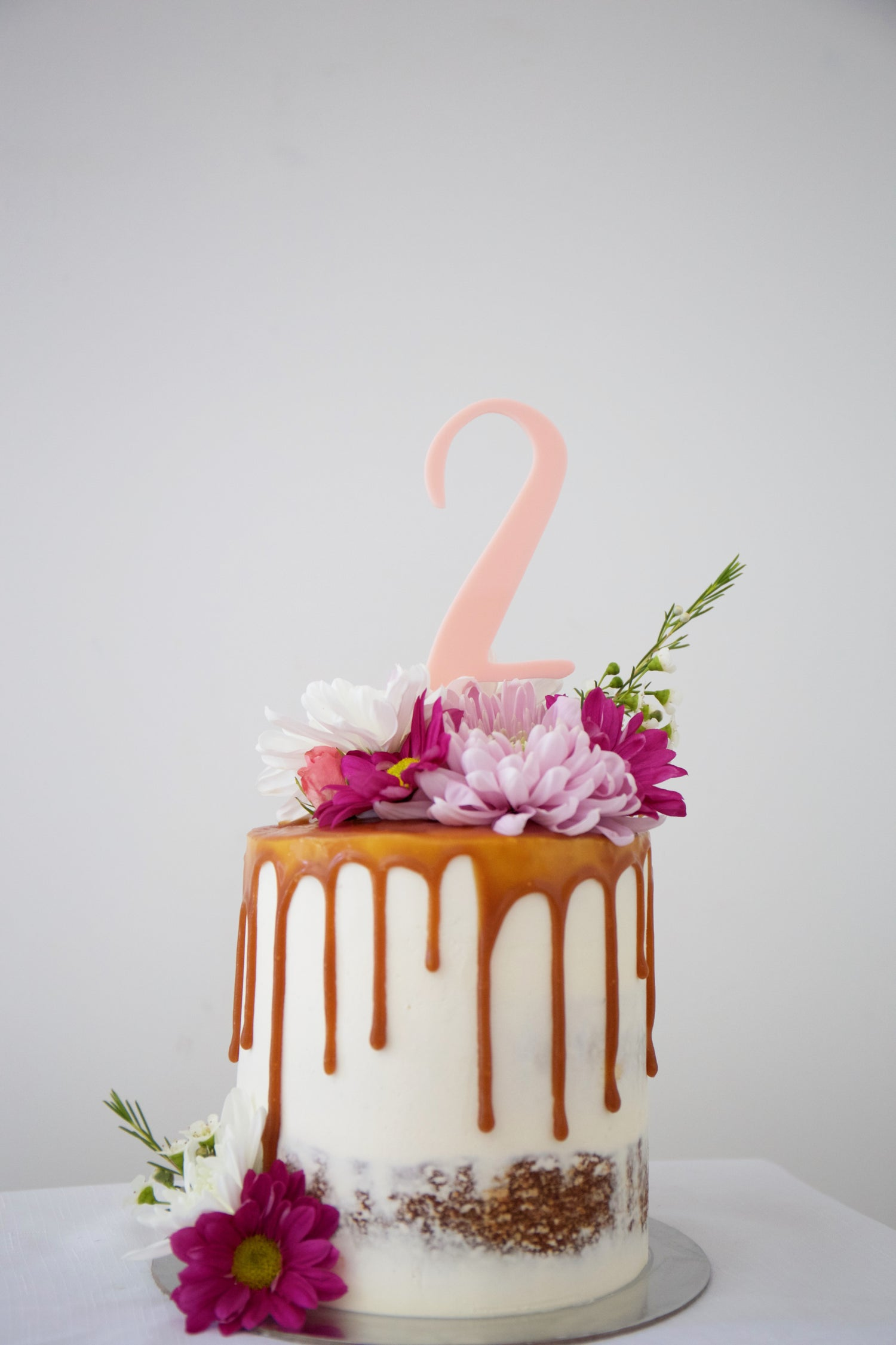 Image Of Number Cake Toppers