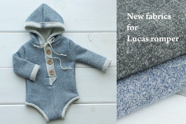 Image of Lucas romper / two sizes / two colors