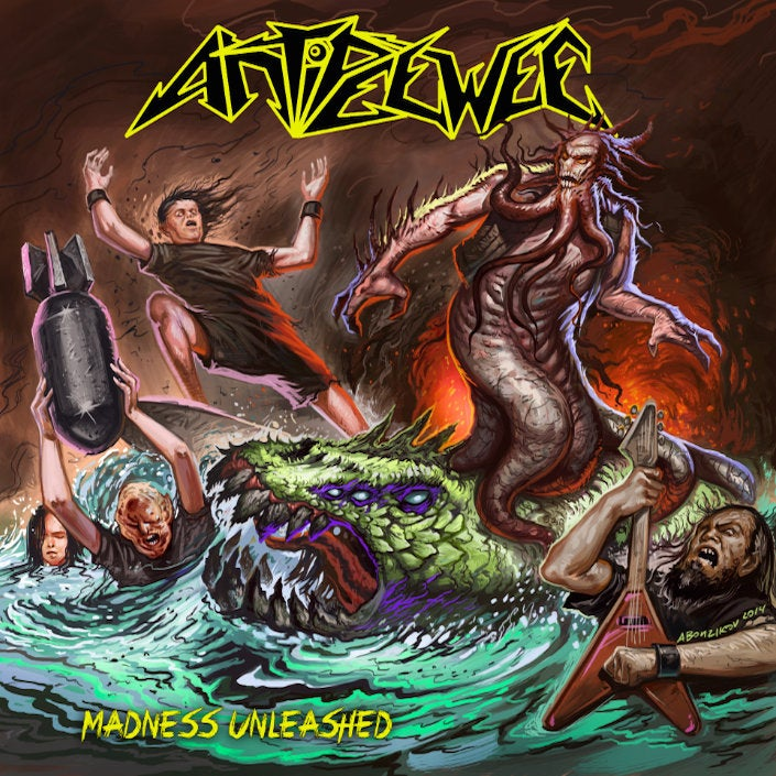 Image of Antipeewee - Madness Unleashed CD