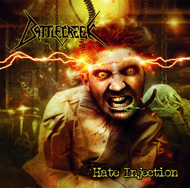Image of Battlecreek - Hate Injection CD
