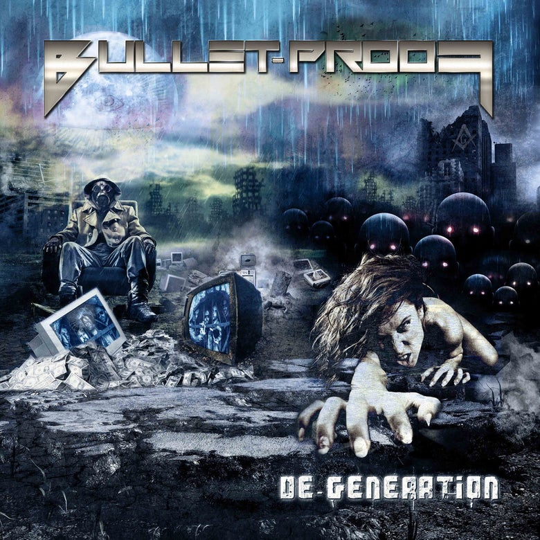 Image of Bulletproof - De-Generation CD