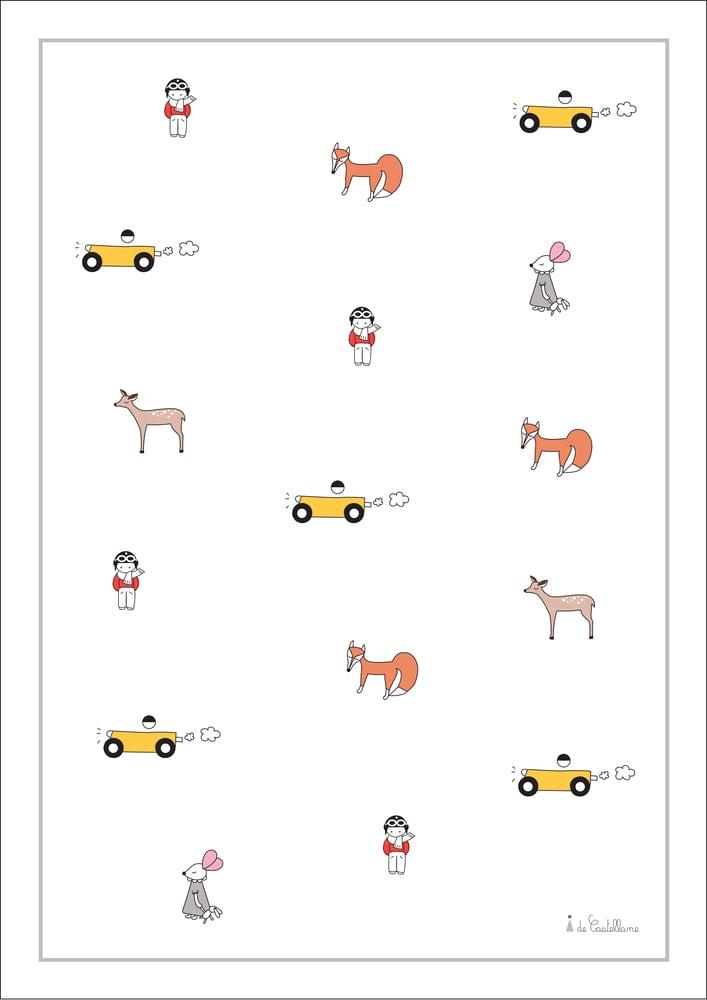 Image of Affiche - Les Miniatures (A4)