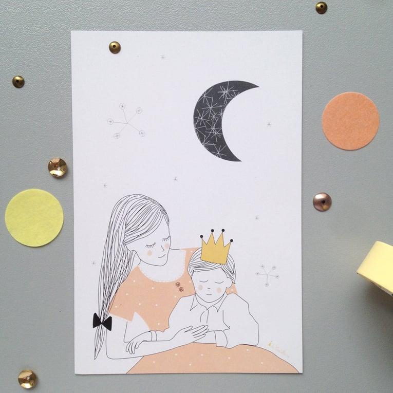 Image of Carte - Petit prince (A6)