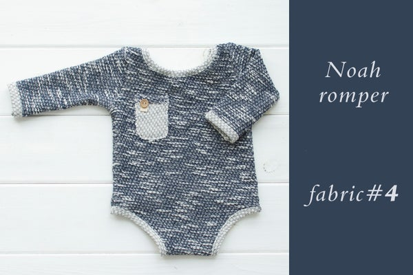 Image of Noah romper / 11 colors / three sizes