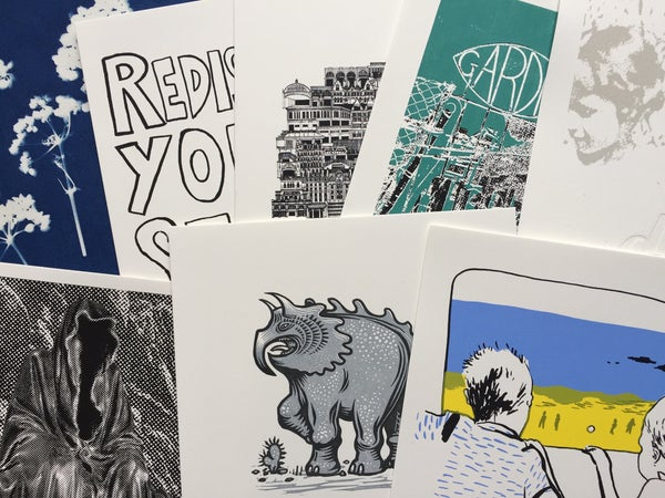 Image of Resortfolio complete boxed collection of 15 original prints