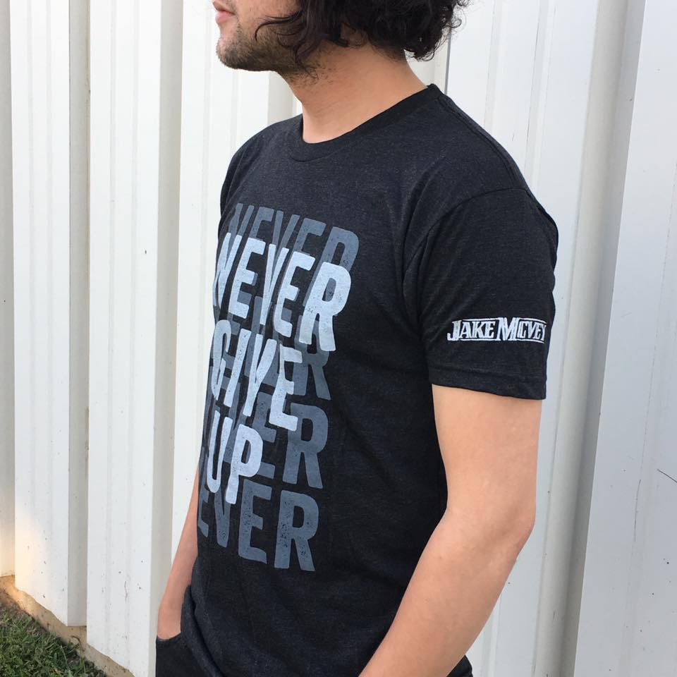 Image of Never Give Up Tee