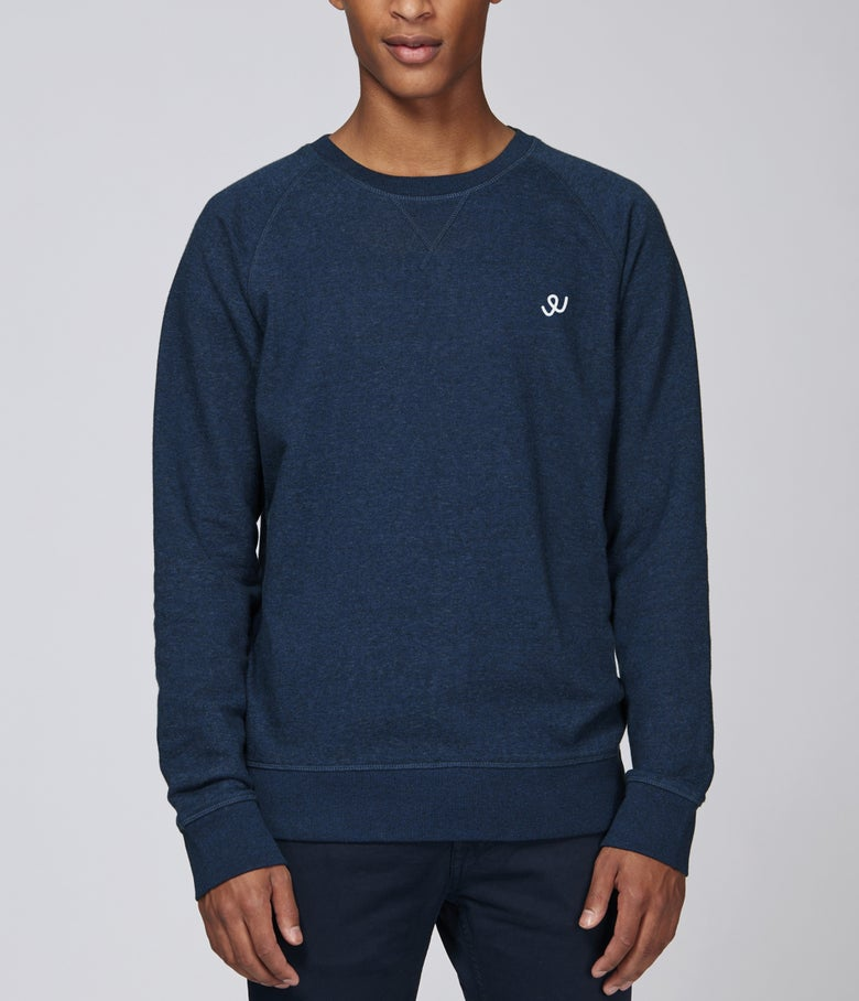 Image of Le Classique W (Navy Sweat)