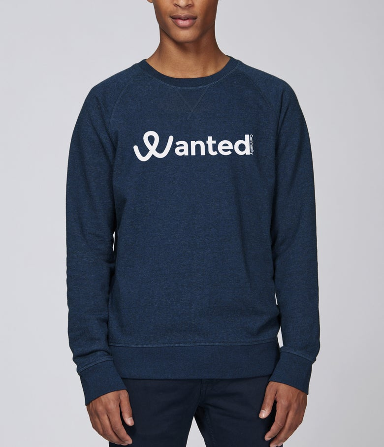 Image of Le Classique Wanted Community (Navy Sweat)