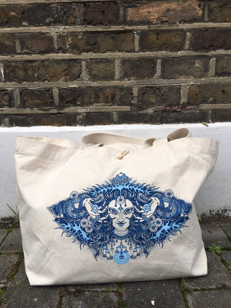 Image of Canvas extra large bag by Claudia de Sabe