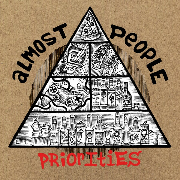 "Image of Almost People ""Priorities"" 12"""