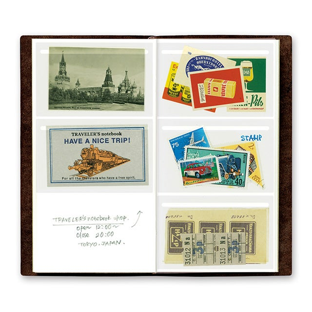 Image of TRAVELER'S notebook Regular Film Pocket Sticker Refill 023