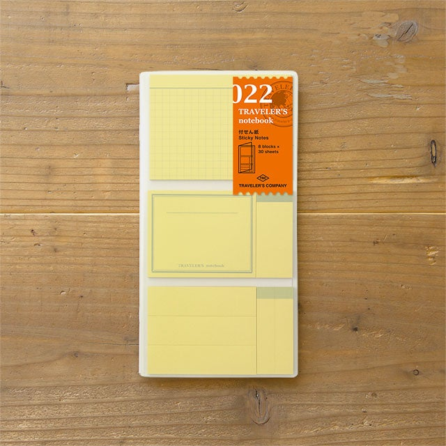 Image of TRAVELER's notebook Regular Post It Refill 022