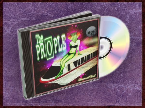"""Image of """"MONORAIL GIRL"""" Physical EP (PRE-ORDER)"""