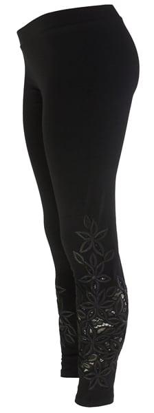 Black Lace Richelieu FW6022BK