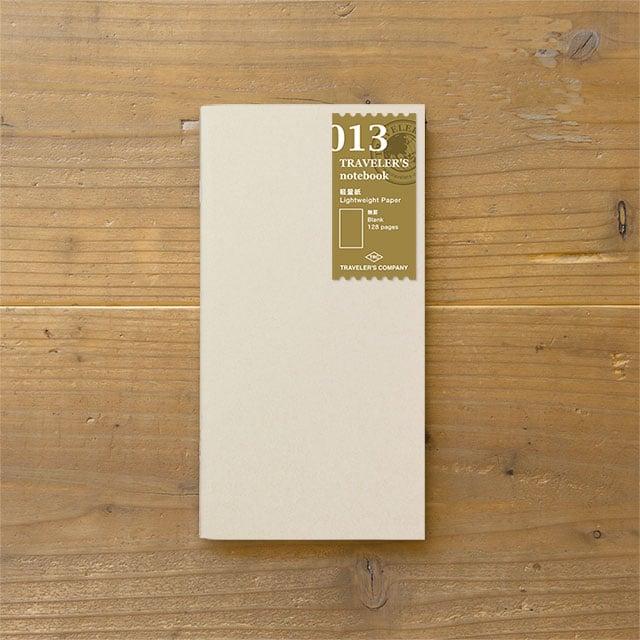 Image of TRAVELER'S notebook Regular Lightweight Tomoe River Paper Refill 013