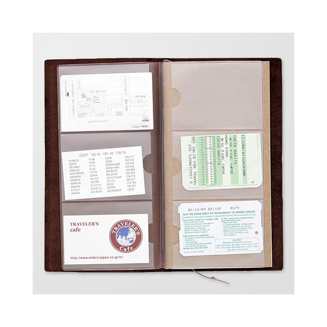 Image of TRAVELER'S notebook Regular Card File Refill 007