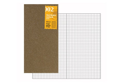 Image of TRAVELER'S notebook Regular Grid Refill 002