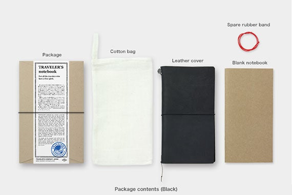 Image of TRAVELER'S notebook Regular Leather Cover