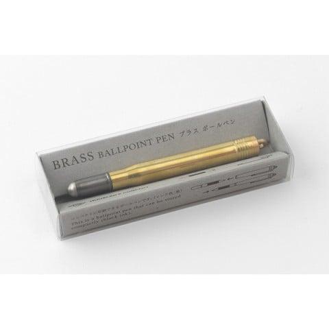 Image of Traveler's Company Brass Ballpoint Pen