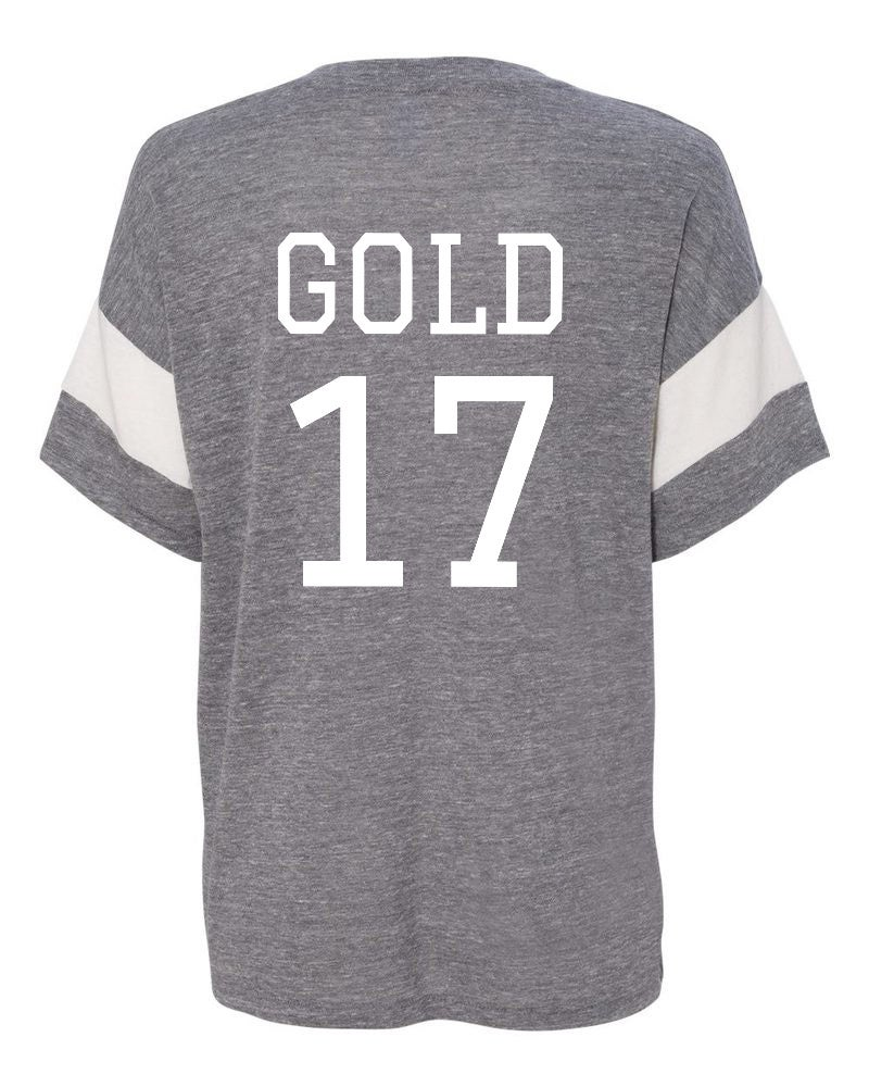 Image of Gold Eco-Jersey T-Shirt