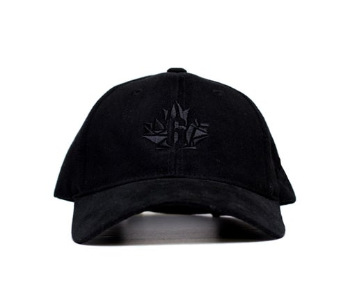 Image of District Dad Hat - Triple Black reg. $34.99