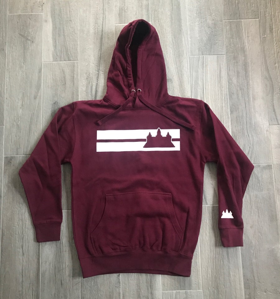 Image of RC Angkor Wat Double Striped Hoodie