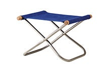 Image of NY Folding Chair X Ottoman - Takeshi Nii Nychair X  - Natural