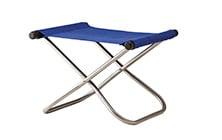 Image of NY Folding Chair X Ottoman - Takeshi Nii Nychair X - Brown