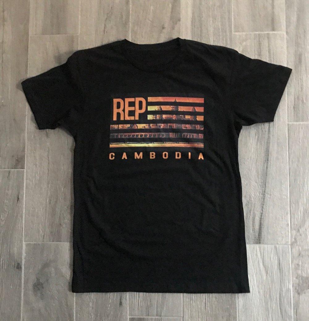 Image of Rep Cambodia Original Flag Tee