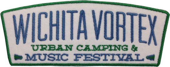 Image of Wichita Vortex Embroidered Patch