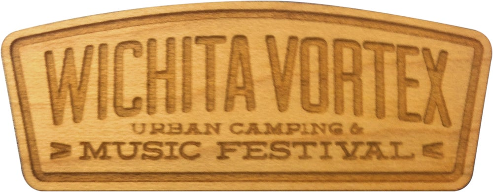 Image of Wichita Vortex Wood Pin